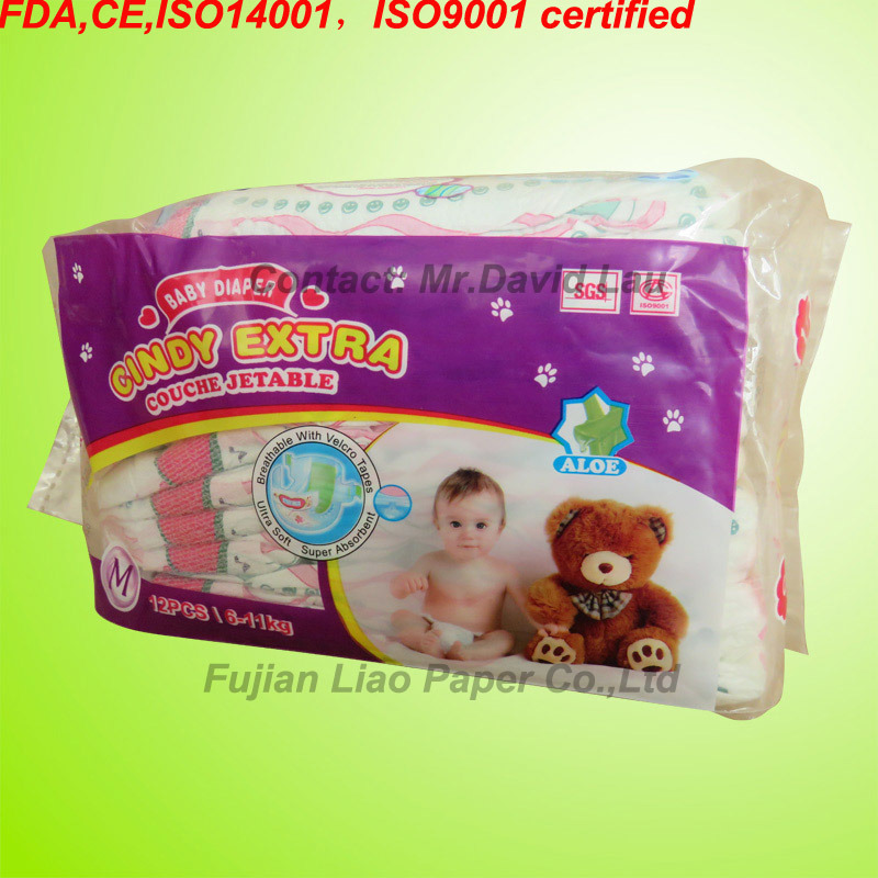 China Breathable Disposable Baby Napkin