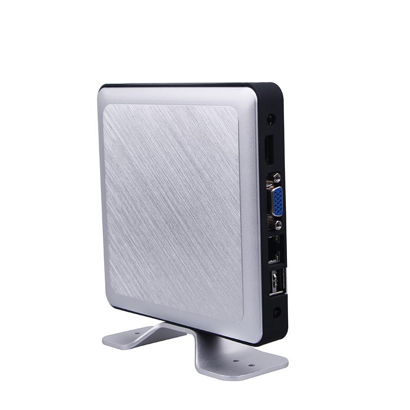 Intel Celeron J1800 Dual-Core Fanless Mini PC (JFTCK620M)