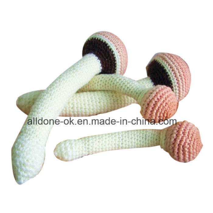 Crochet Mushroom Amigurumi Toy Anniversary Gift Home Office Nursery Decoration