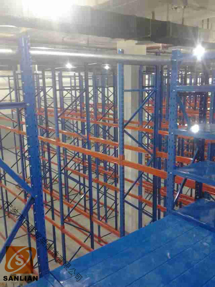 Multi Layer Shelf Style Selective Warehouse Mezzanine Rack