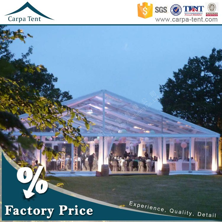 900 People China PVC Canopy Marquee Tents Structure for Wedding