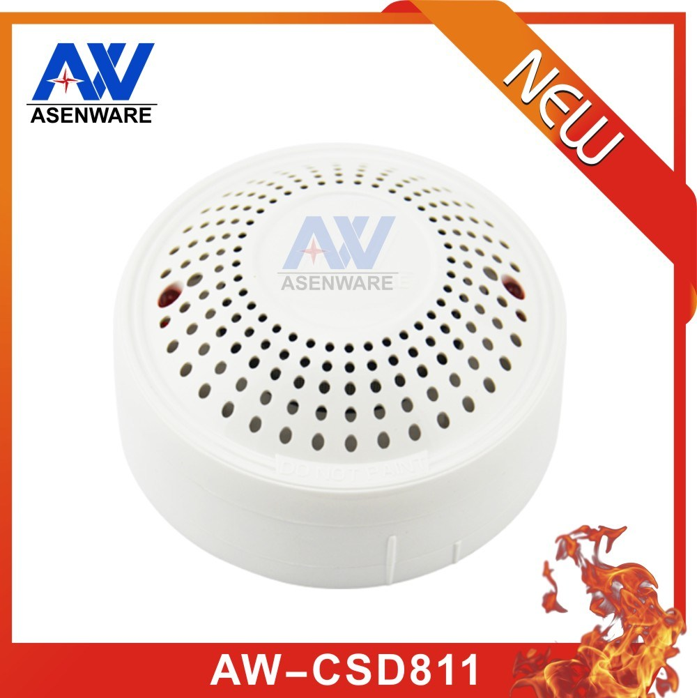 Aw-CSD811 2 Wire / 4 Wire 220V Smoke Fire Detector