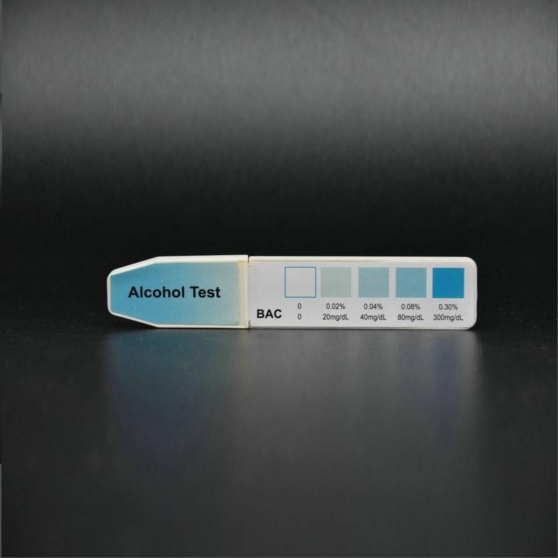 Ce Marked One Step Rapid Alcohol Urine/Saliva/Breast Milk Test Strip