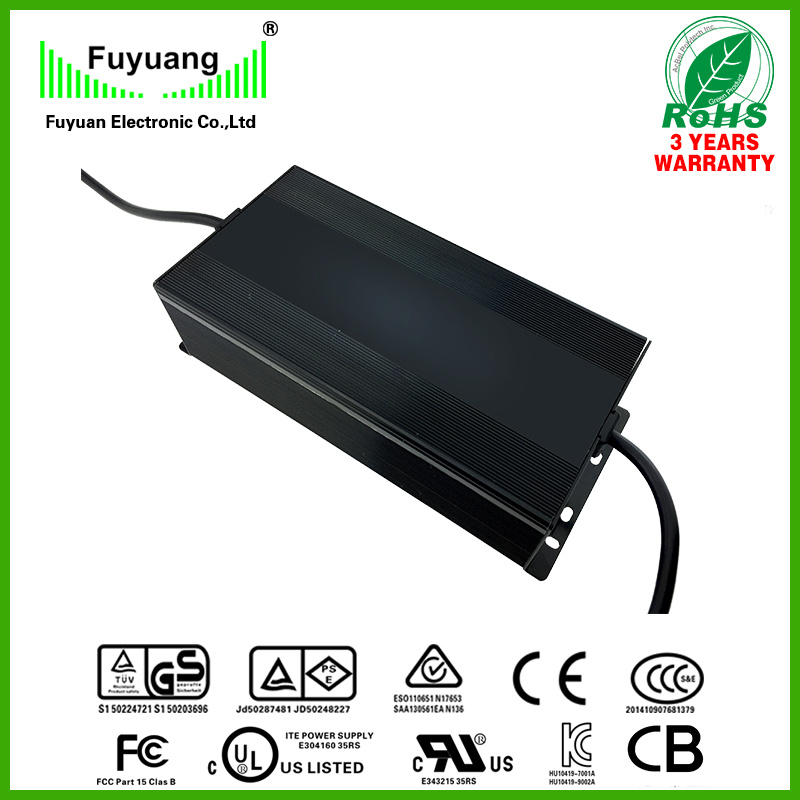 IP67 Waterproof Power Supply 34V6a with Aluminium Housing (FY3406000)