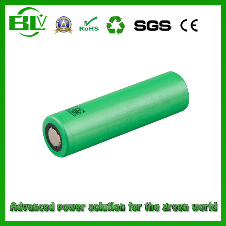 18650 3.7V 3400mAh LiFePO4 Battery for Flashlight, E-Ciga, Power Tools