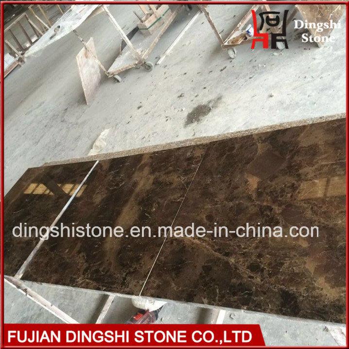 Natural Marble Dark Emperador Marble Tile for Flooring/Wall Tiles