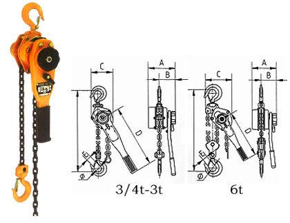 New 6 Ton Lever Block/Lever Hoist (HSH-A6)