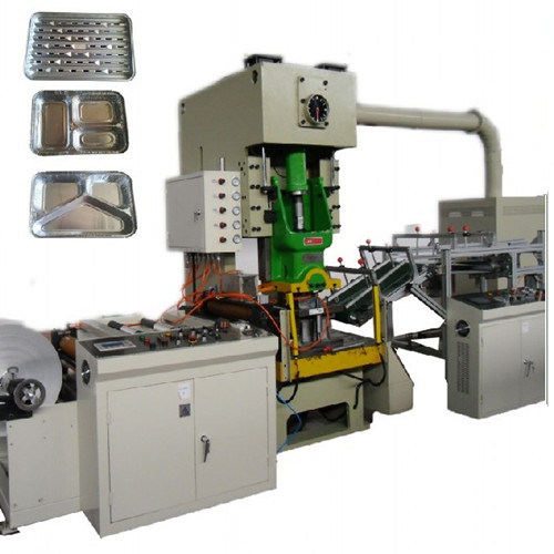 Disposable with High Speed Aluminum Foil Container Making Machine