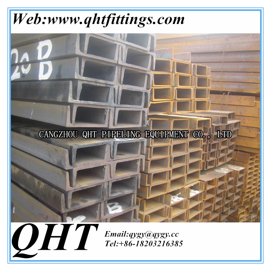 ASTM A36 Galvanized Structural Steel Section Steel Channel