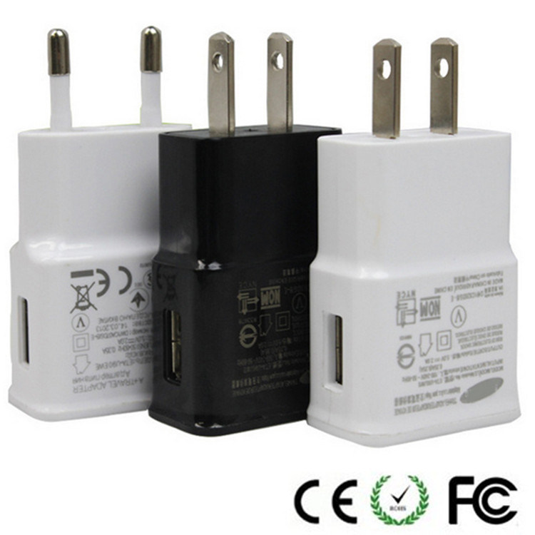 EU Us Plug Universal USB Wall Charger Adapter for Samsung