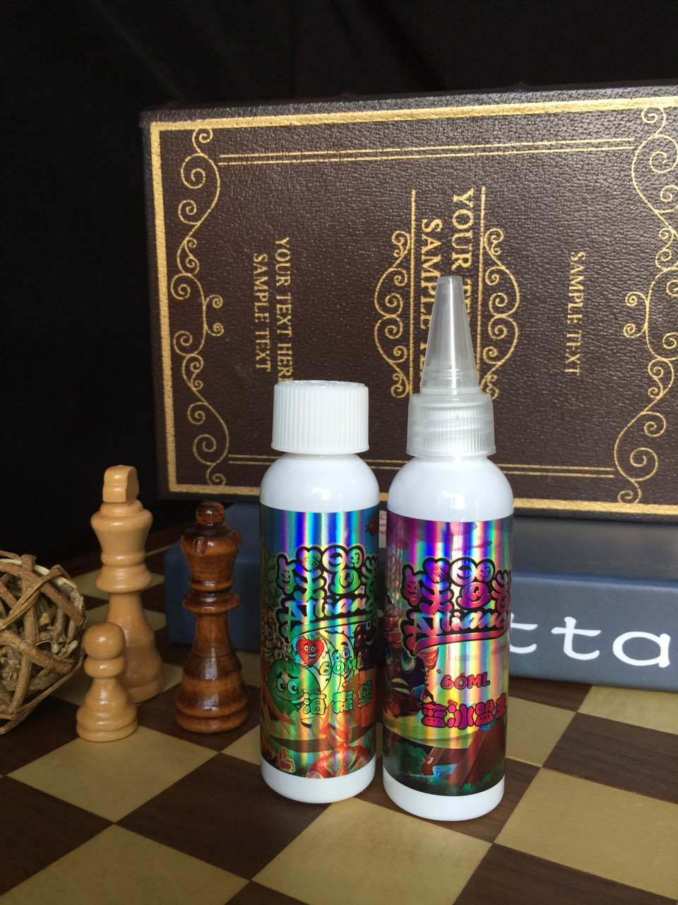 Lmz Net E-Liquids with 0mg Nicotine in 60ml Health Bottle