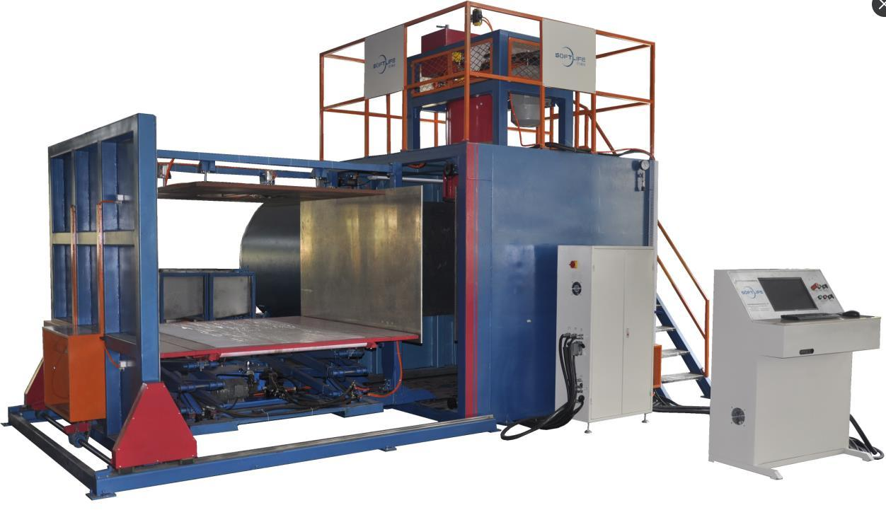 Automatic Vacuum Foaming Machine Mattress Machinery