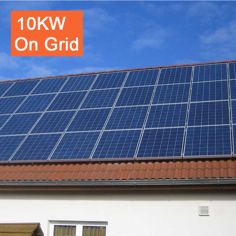 10kw on Grid Solar Energy System