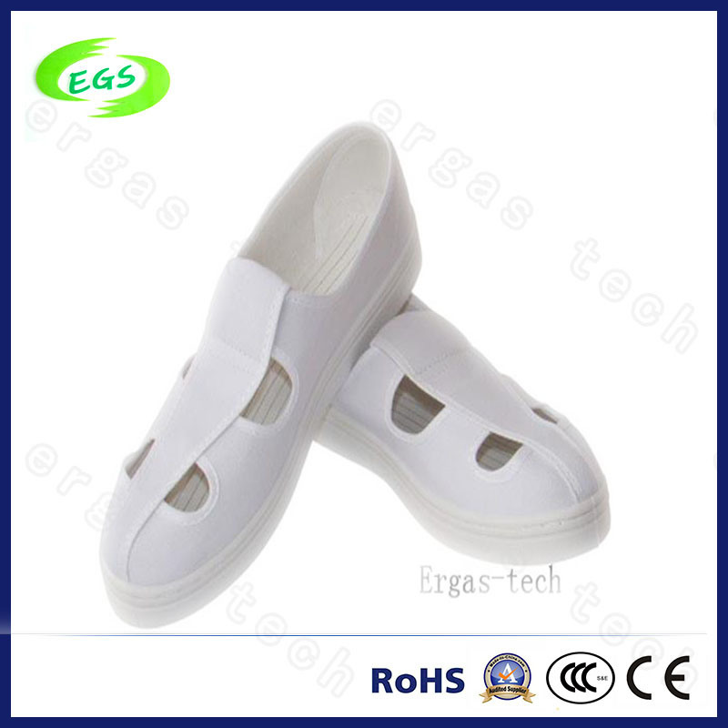 Clean Room Worker Canvas PU ESD Antistatic Shoes