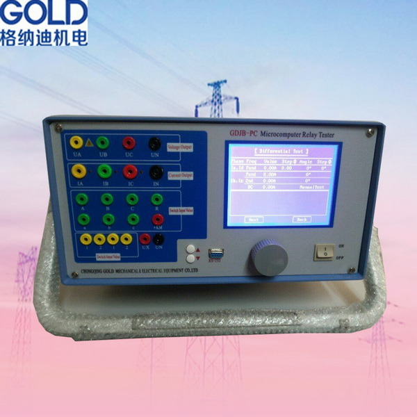 Single Phase, 3 Phase, 6 Phase Relay Protection Testing Device