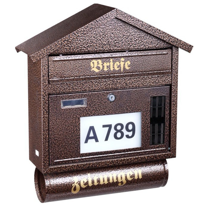 Fq-131 European Classic Design Mailbox with Solar