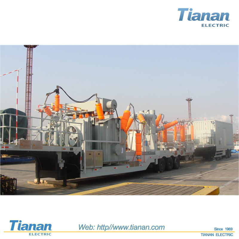 Distribution Emergency Power Transmission 132kv Prefabricated Mobile Substation
