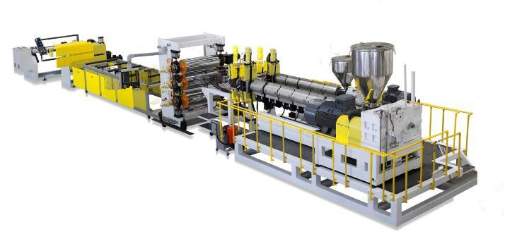 PP/PS Sheet Plastic Sheet Extrusion Equipment