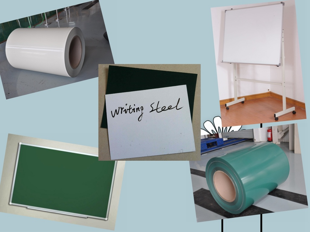White Board Steel for Whiteboard & Chalkboard Manufacturing