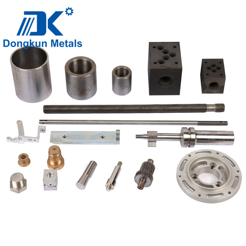 Brass Aluminum and Stainless Steel CNC Machining by Draws