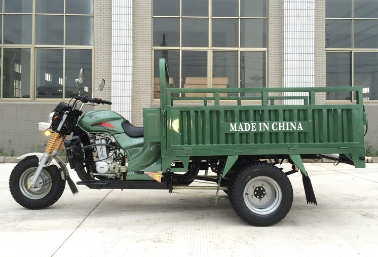 2 Ton Heavy Loading Cargo Tricycle with Double Rear Tyres