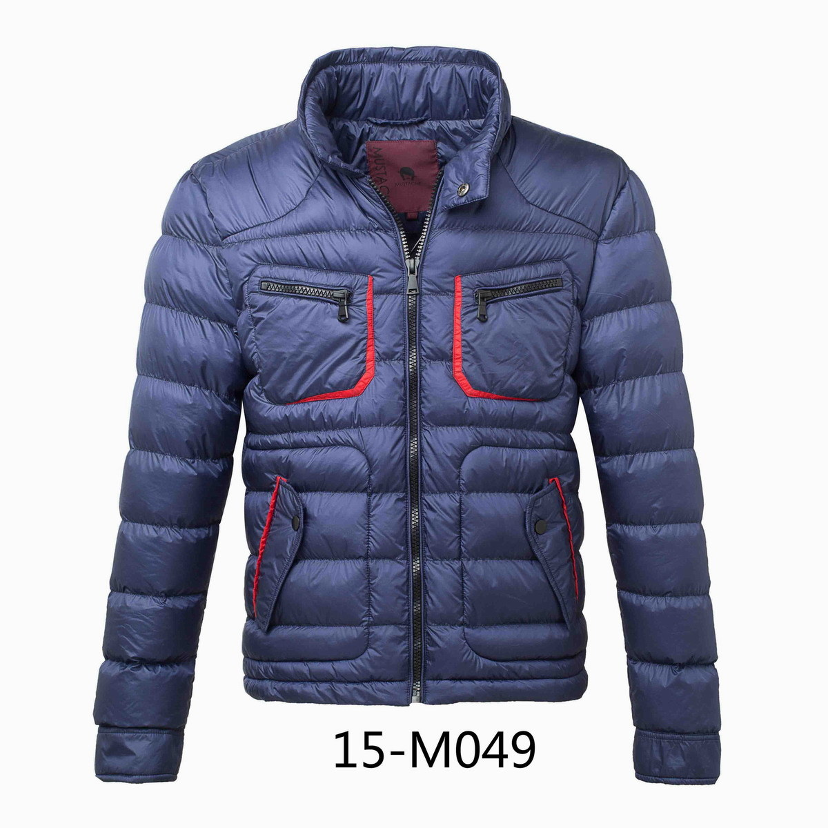 Men′s Calandered Nylon Padding Winer Jacket (15-M049)