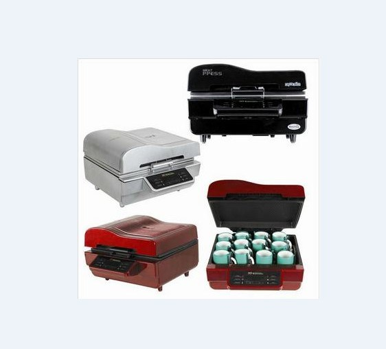 3D Heat Press Machine for T-Shirt/Printing Machine Hs3d3