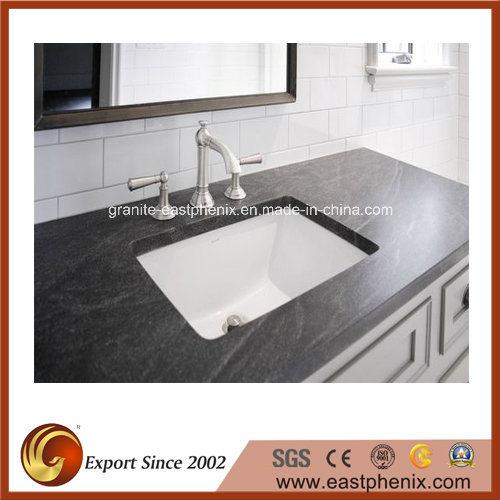 White/Black/Green/Blue/Beige Quartz/Marble/Granite Vanity Top for Kitchen/Bathroom/Hotel
