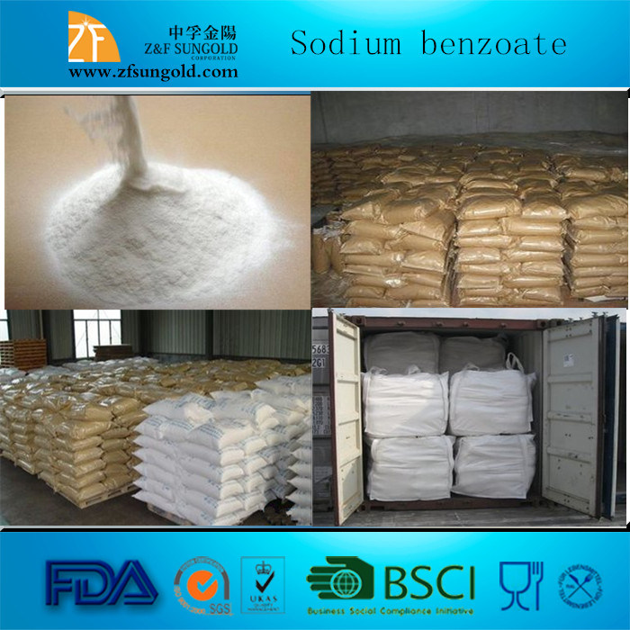 High Quality Food Preservative Sodium Benzoate Powder