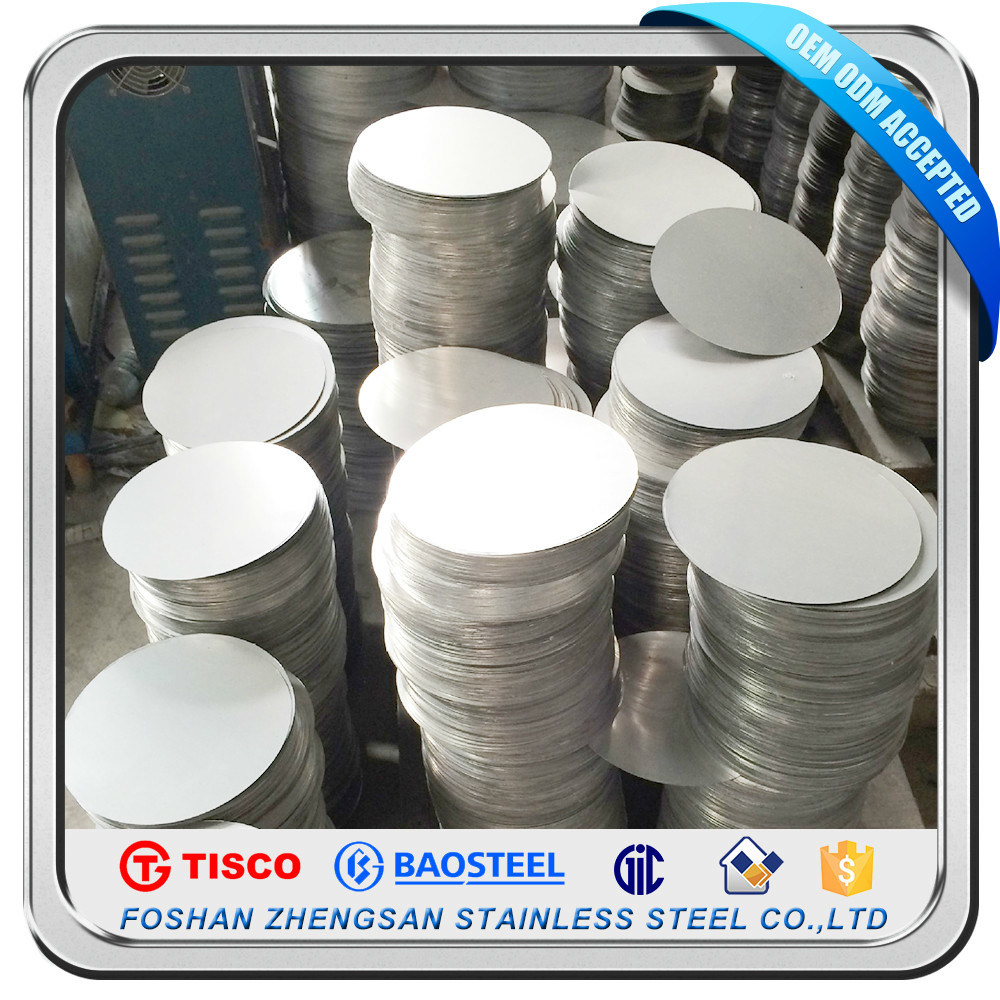Stainless Steel Circle for Deep Drawing Utenils