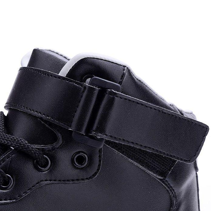 Men USB Charging LED Sport Shoes Flashing Sneakers