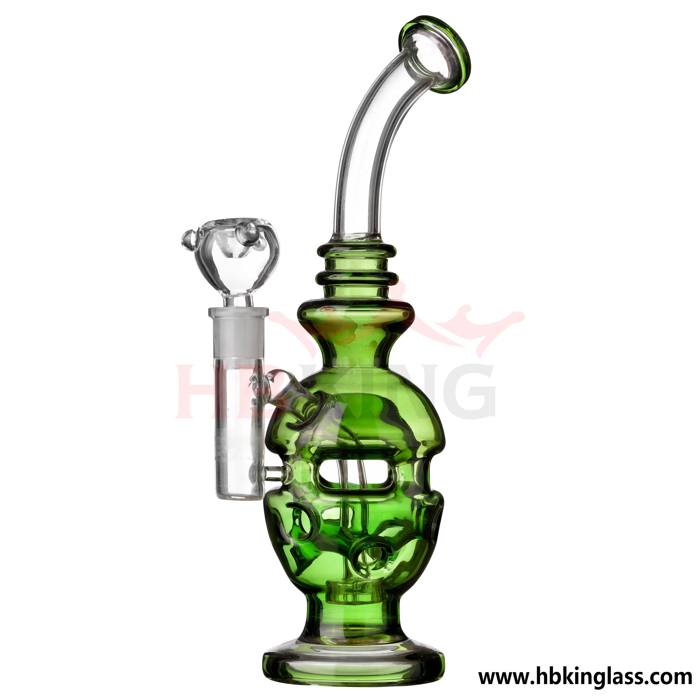 Hbking Chronic Faberge Percolator Glass DAB Oil Rig