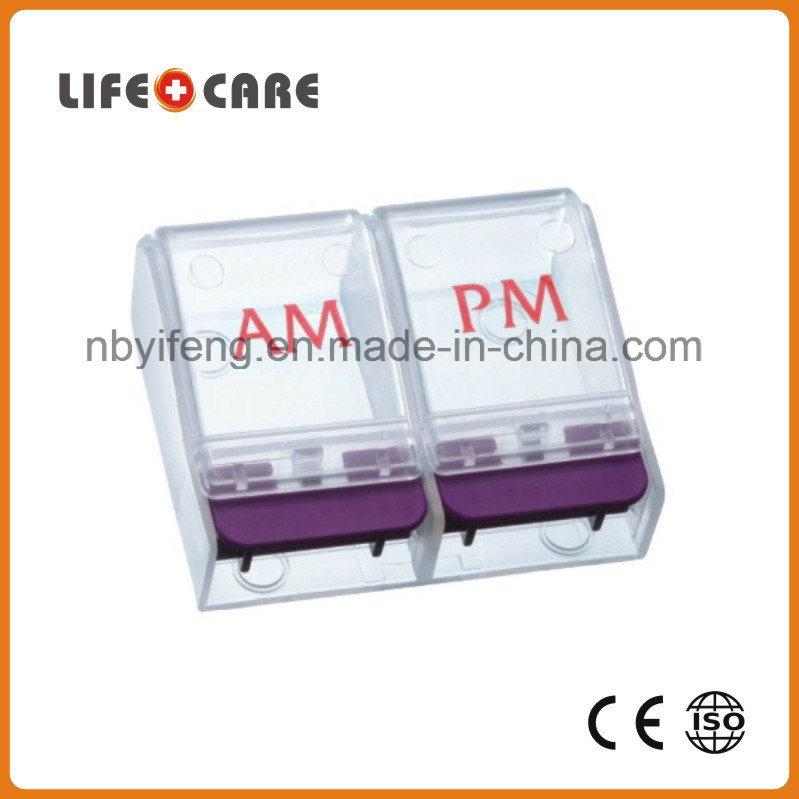 Medical Plastic Pill Popper Dispenser/Pill Cutter for Promotion