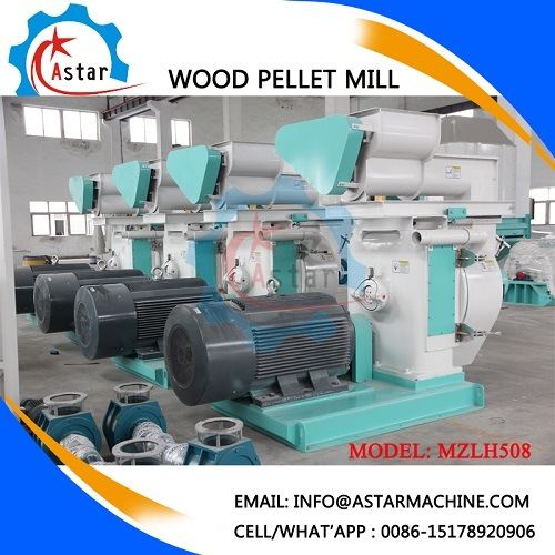 Capacity 2t/H Biomass Sawdust Wood Pellet Making Machine