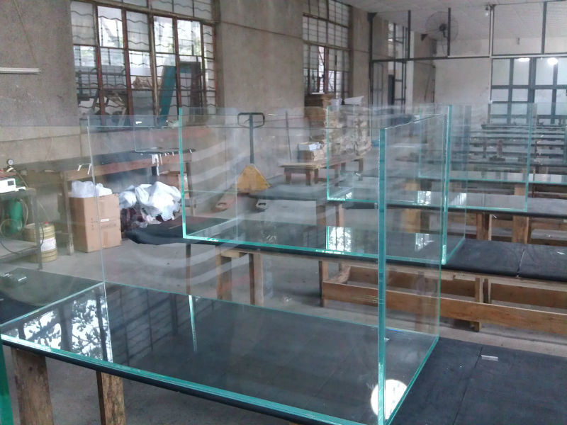 Fish aquarium manufacturers manufacturer of luxury and for Acrylic vs glass fish tank