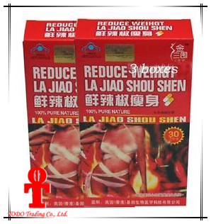 La Jiao Shou Shen Hot Pepper Slimming Capsule Weight Loss Diet Pills