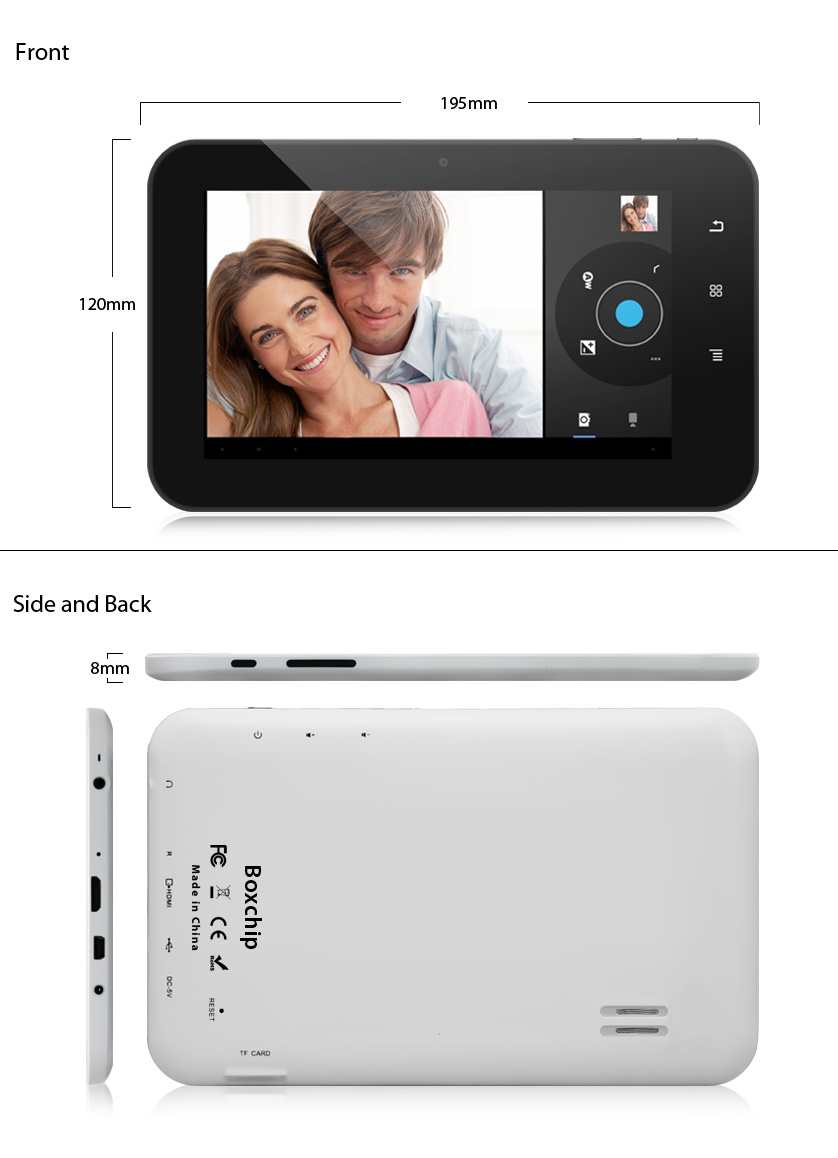 Inch Tablet PC MID-Hz706 (3D OTG HD 3G WiFi camera) (MID-HZ706)