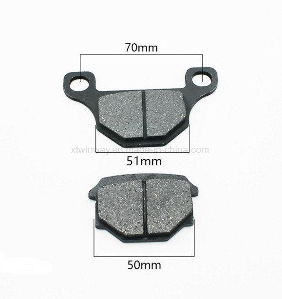 Ww-5113 Semi-Metallic Motorcycle Brake Pad for Gn125