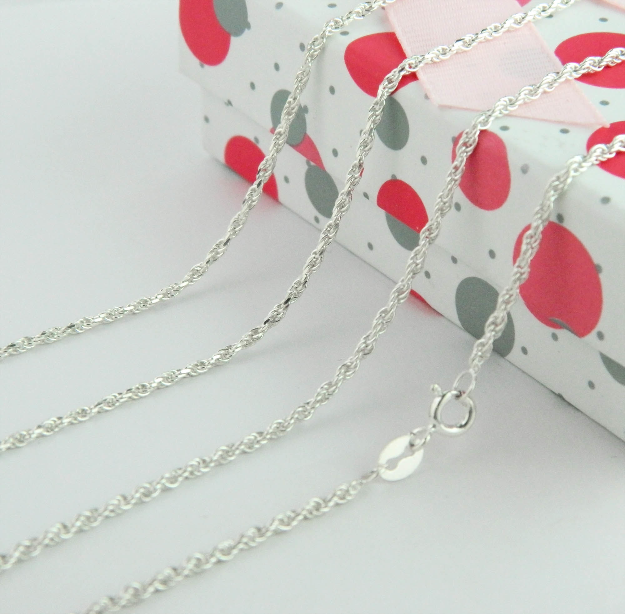 Sterling Silver Neckalce Jewelry, 925 Silver Chain, Fashion Jewelry (GT165)