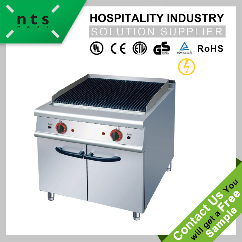 Electric Radiant Grill with Cabinet for Hotel & Restaurant Kitchen Equipment