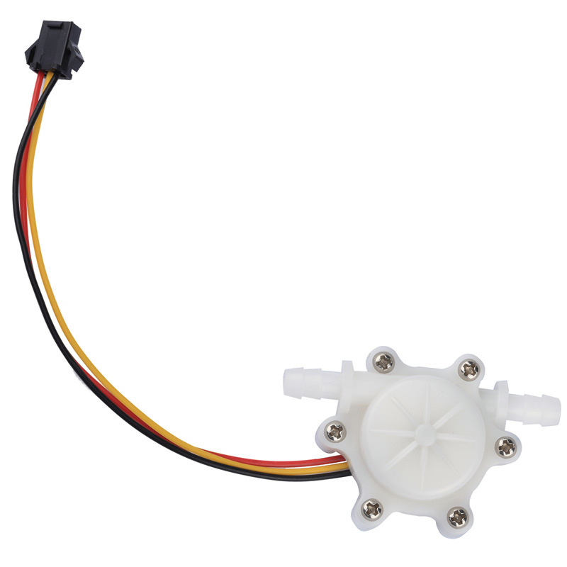 Flow Sensor, Trough Type, Hall Effect Flow Sensor, Flow Meter,