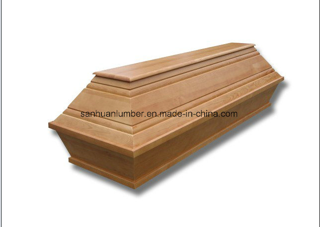 Funeral Products with Solid Wood and Natural Color