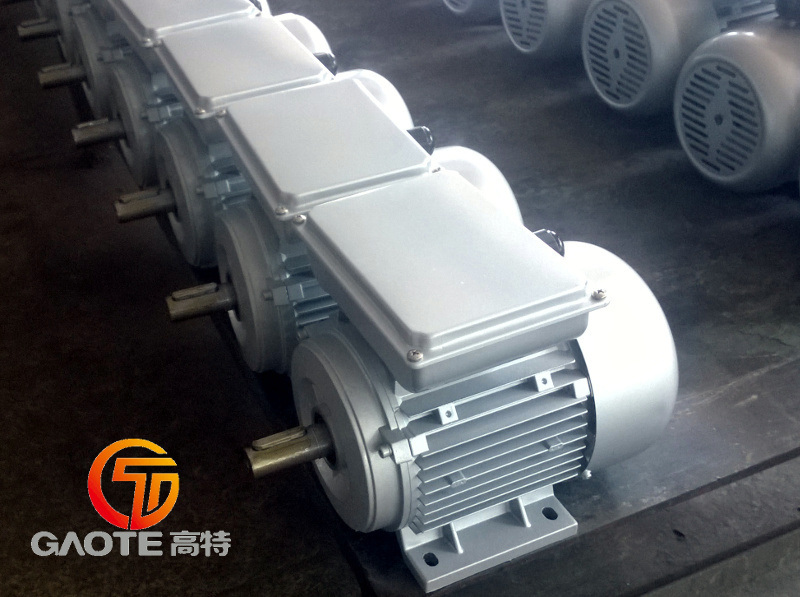 Single Phase Aluminum Motors (Sizes 63 - 132, 0.12 to 5.5kW)