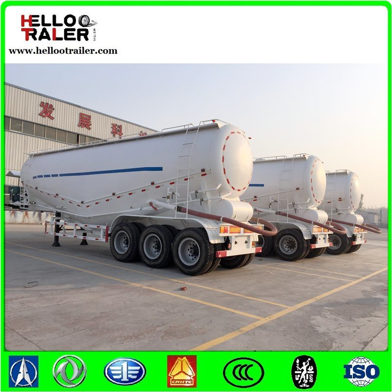 3axle 40m3 Cement Transport Trucks Tank Semi Trailer