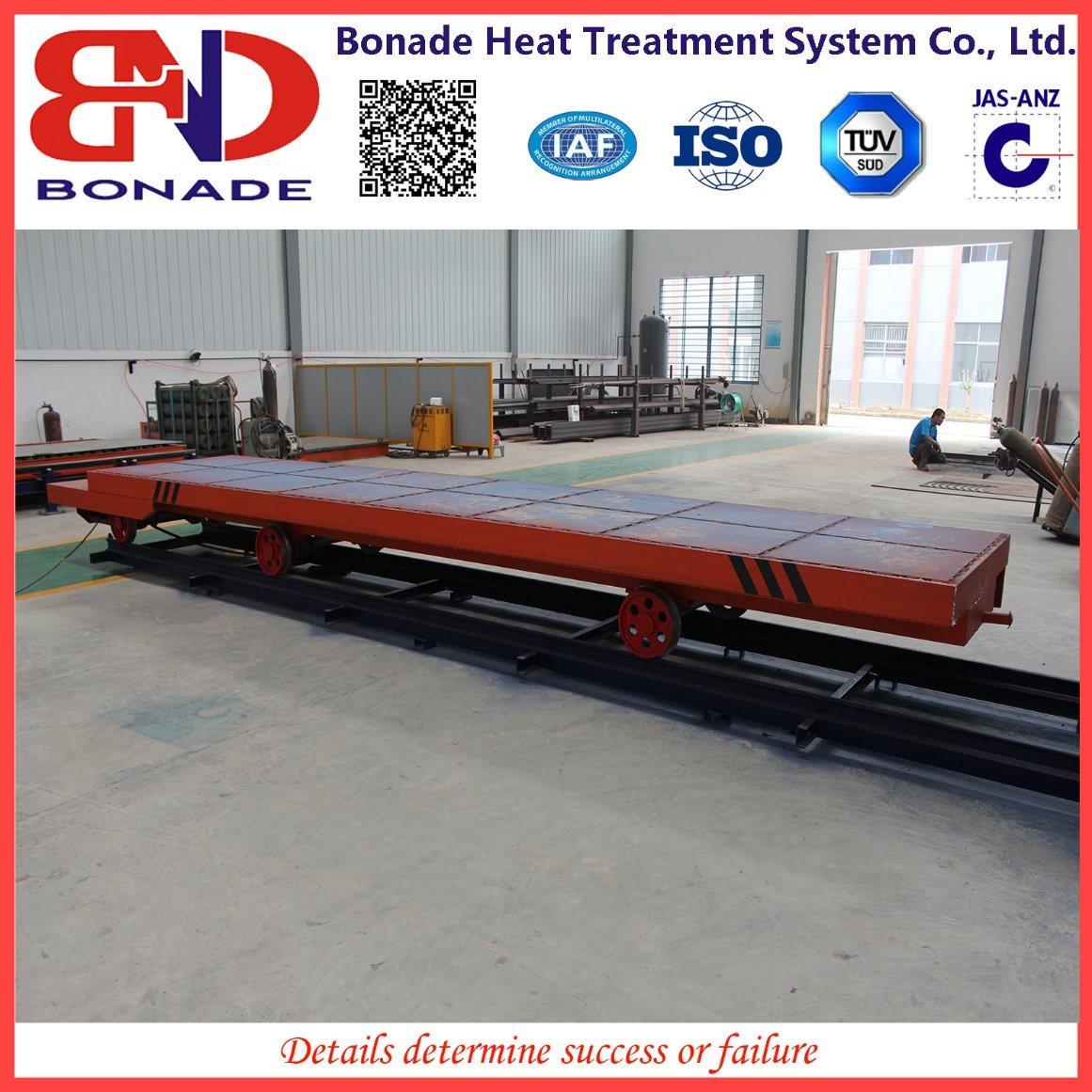 900kw Air Circulation Bogie Hearth Furnaces for Heat Treatment