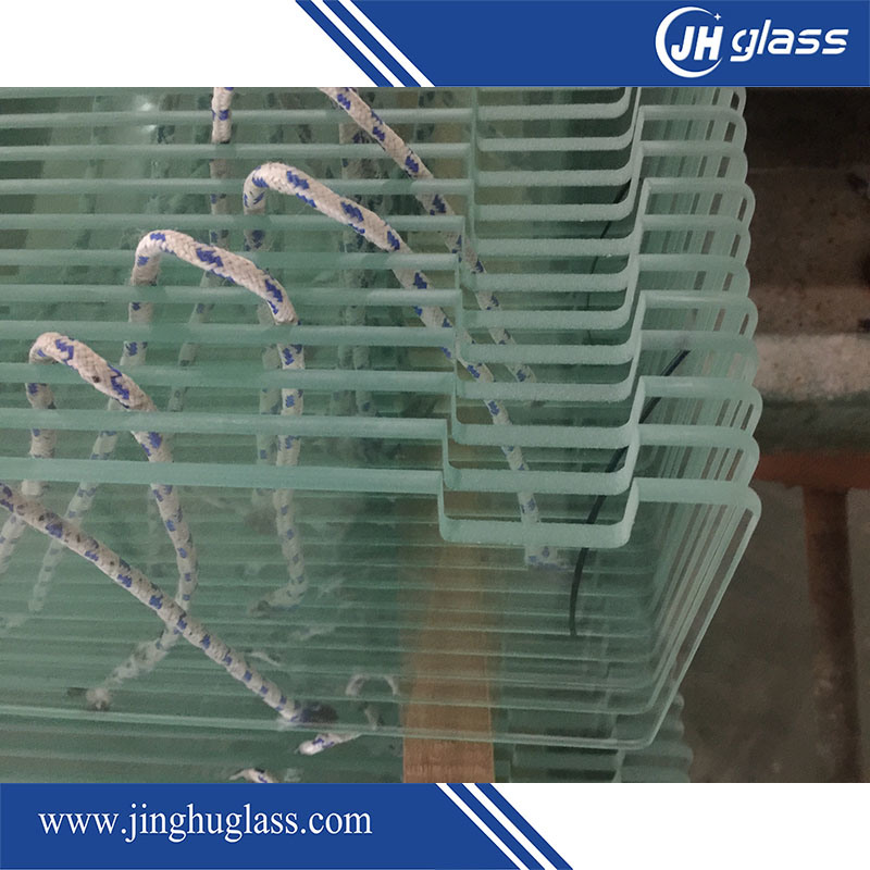 3-19mm Bent Tempered Glass for Shower Door