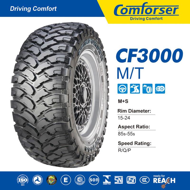 Mud Car Tyre, Light Truck Tire 33X12.5R20, 35X12.5R20