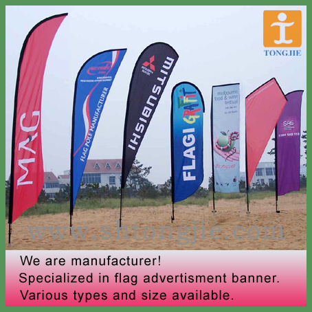 Flying Flag, Beach Flag Banner