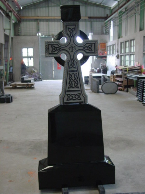 European Style Black Granite Mounments/Tombstone