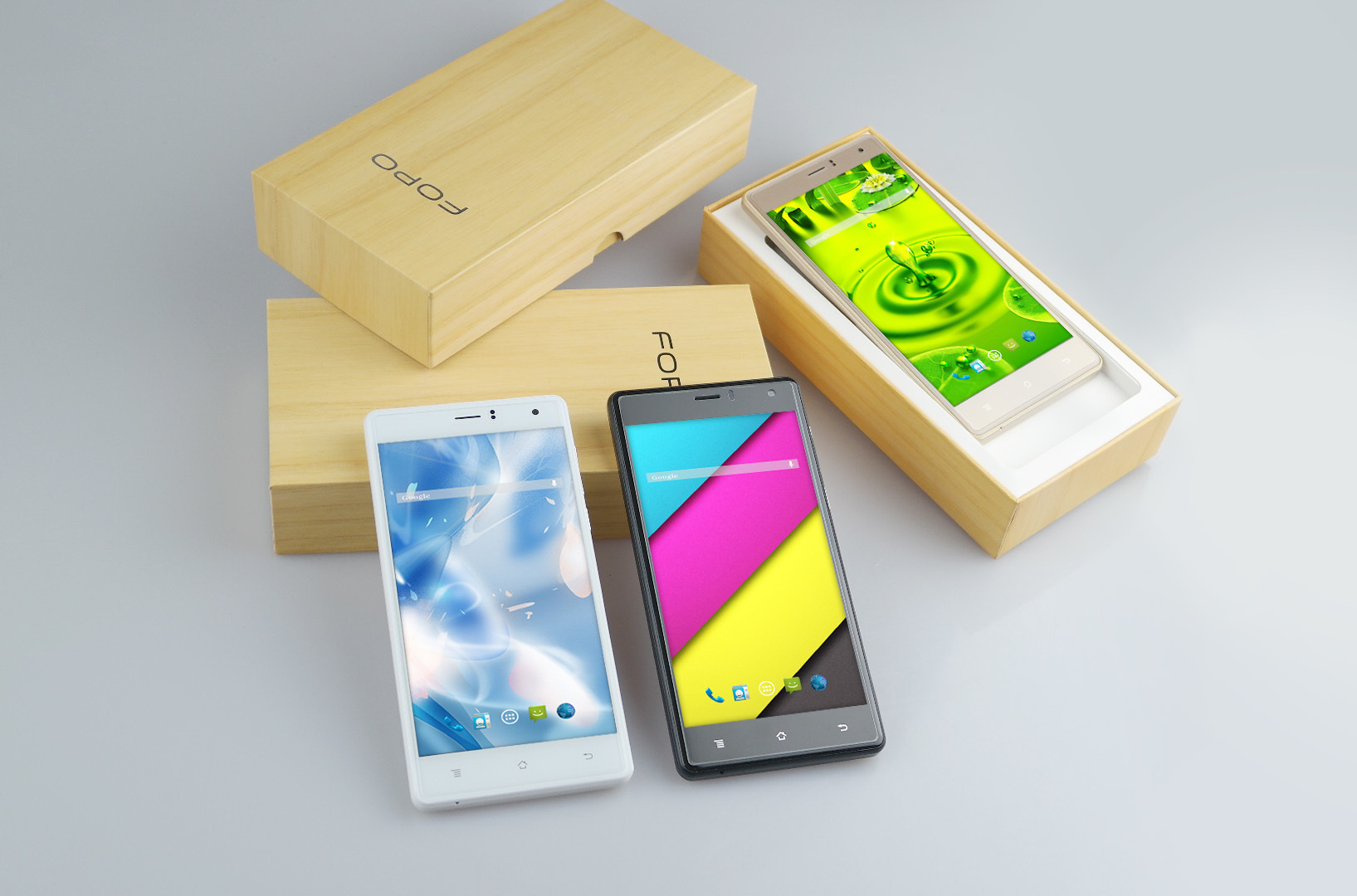 5.5inch Mtk6580 Quad-Core 1.2GHz 720X1280 IPS Screen Android 5.1 3G OEM Smartphone
